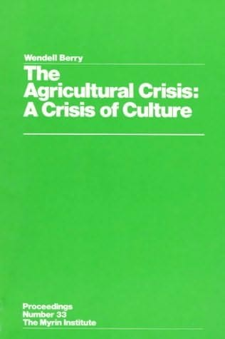 book cover of The Agricultural Crisis