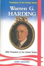 book cover of Warren G. Harding