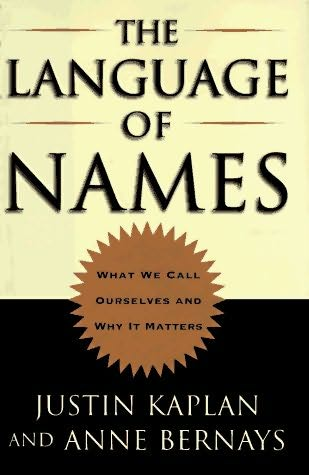 book cover of The Language of Names