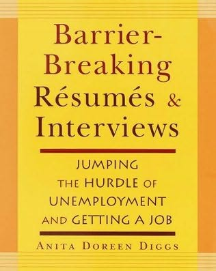 book cover of Barrier-breaking Resumes and Interviews