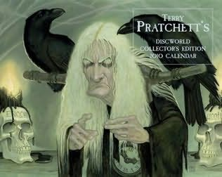 book cover of Terry Pratchett\'s Discworld Collector\'s Edition Calendar 2010