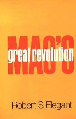 book cover of Mao\'s Great Revolution