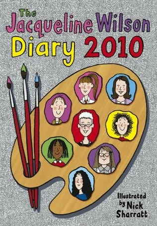 book cover of Jacqueline Wilson Diary 2010