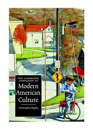 book cover of The Cambridge Companion to Modern American Culture