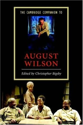 book cover of The Cambridge Companion to August Wilson