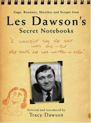 book cover of Les Dawson\'s Secret Notebooks