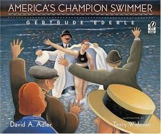 book cover of America\'s Champion Swimmer