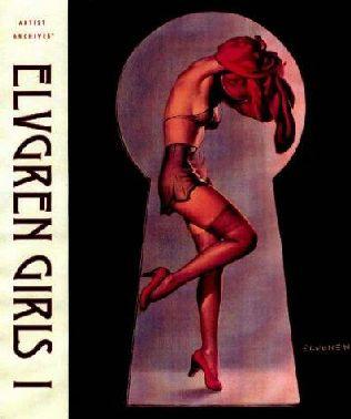 book cover of Elvgren Girls I