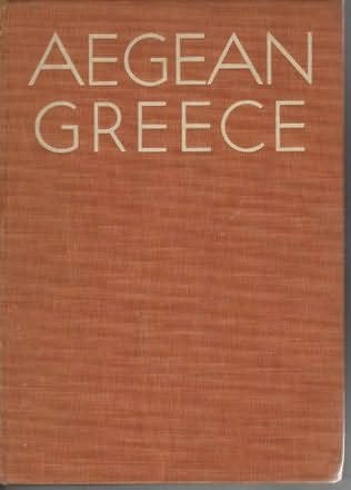 book cover of Aegean Greece