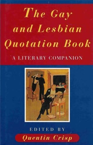 book cover of The Gay and Lesbian Quotation Book
