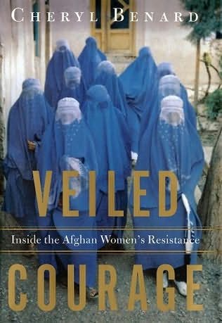 book cover of Veiled Courage