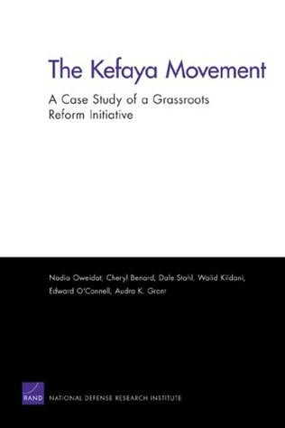 book cover of The Kefaya Movement