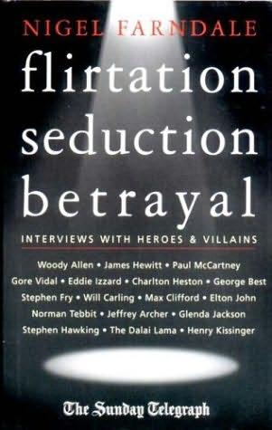 book cover of Flirtation, Seduction, Betrayal