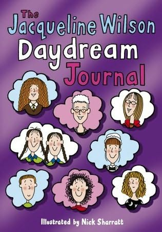 book cover of The Jacqueline Wilson Daydream Journal