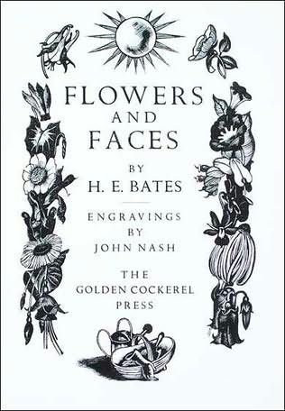 book cover of Flowers and Faces
