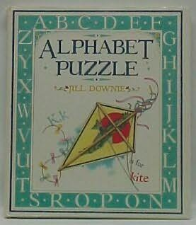 book cover of Alphabet Puzzle