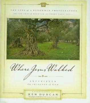 book cover of Where Jesus Walked