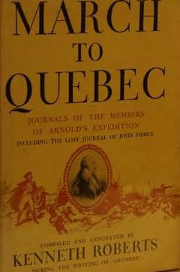 book cover of March to Quebec