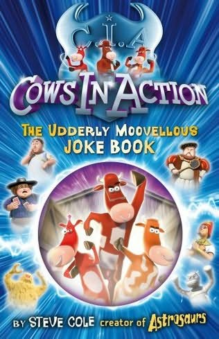 book cover of Cows in Action Joke Book