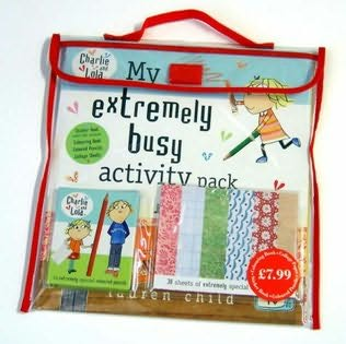 book cover of My Extremely Busy Activity Pack
