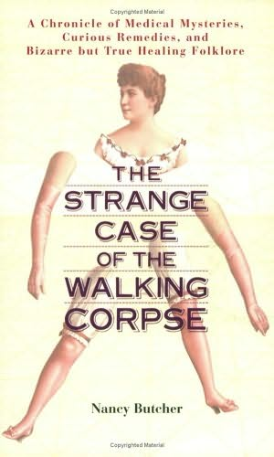 book cover of The Strange Case of the Walking Corpse