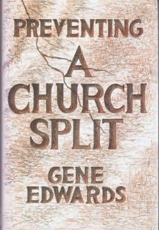 book cover of Preventing a Church Split