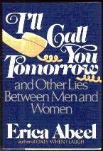 book cover of I\'ll Call You Tomorrow