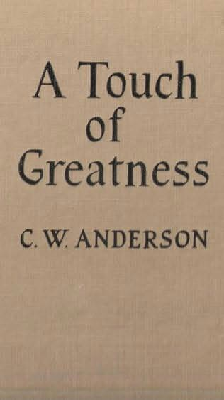 book cover of A Touch of Greatness