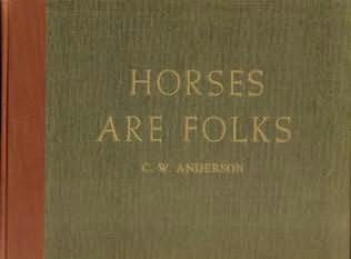 book cover of Horses Are Folks