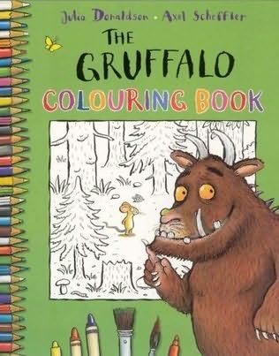 book cover of The Gruffalo Colouring Book