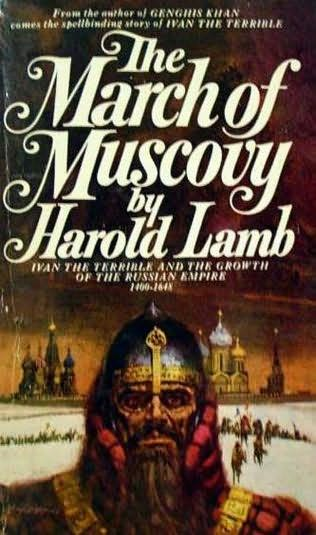book cover of The March of Muscovy