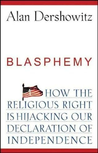book cover of Blasphemy