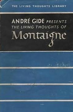 book cover of Living Thoughts of Montaigne