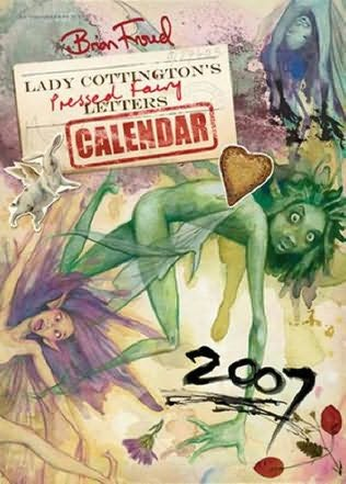 book cover of Lady Cottington\'s Pressed Fairy 2007 Wall Calendar