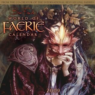 book cover of World of Faerie 2009 Wall Calendar