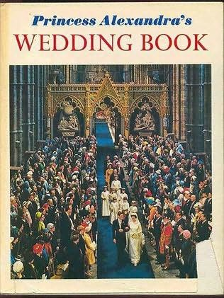 book cover of Princess Alexandra\'s Wedding Book