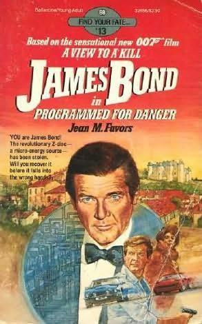 book cover of James Bond in Programmed for Danger