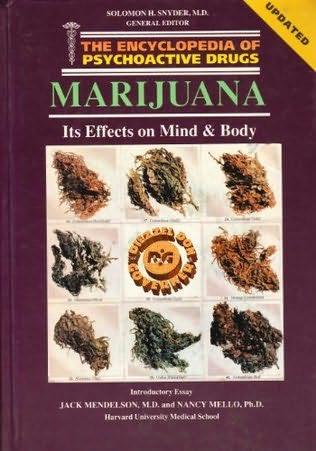book cover of Marijuana