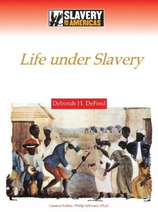 book cover of Life Under Slavery