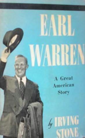 book cover of Earl Warren