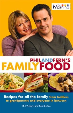 book cover of Phil and Fern\'s Family Feasts