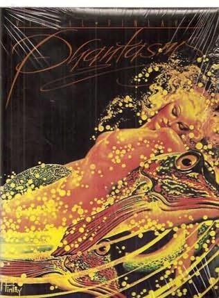book cover of Virgil Finlay\'s Phantasms