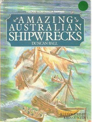 book cover of Amazing Australian Shipwrecks