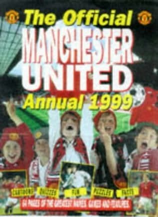 book cover of Official Manchester United Children\'s Annual