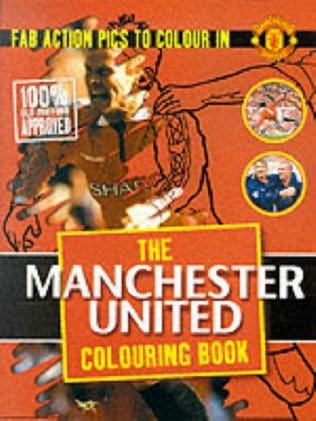 book cover of Manchester United Colouring Book