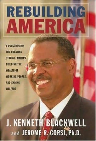 book cover of Rebuilding America