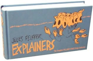 book cover of Explainers: The Complete Village Voice Strips (1956-1966)