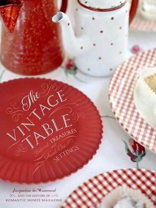 book cover of The Vintage Table