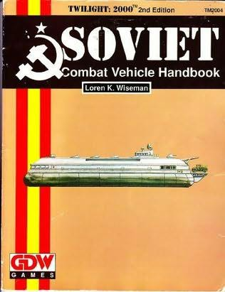 book cover of Soviet Combat Vehicle Handbook (Twilight 2000 Series)