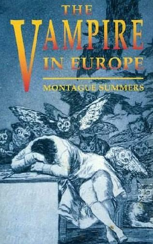 book cover of The Vampire in Europe